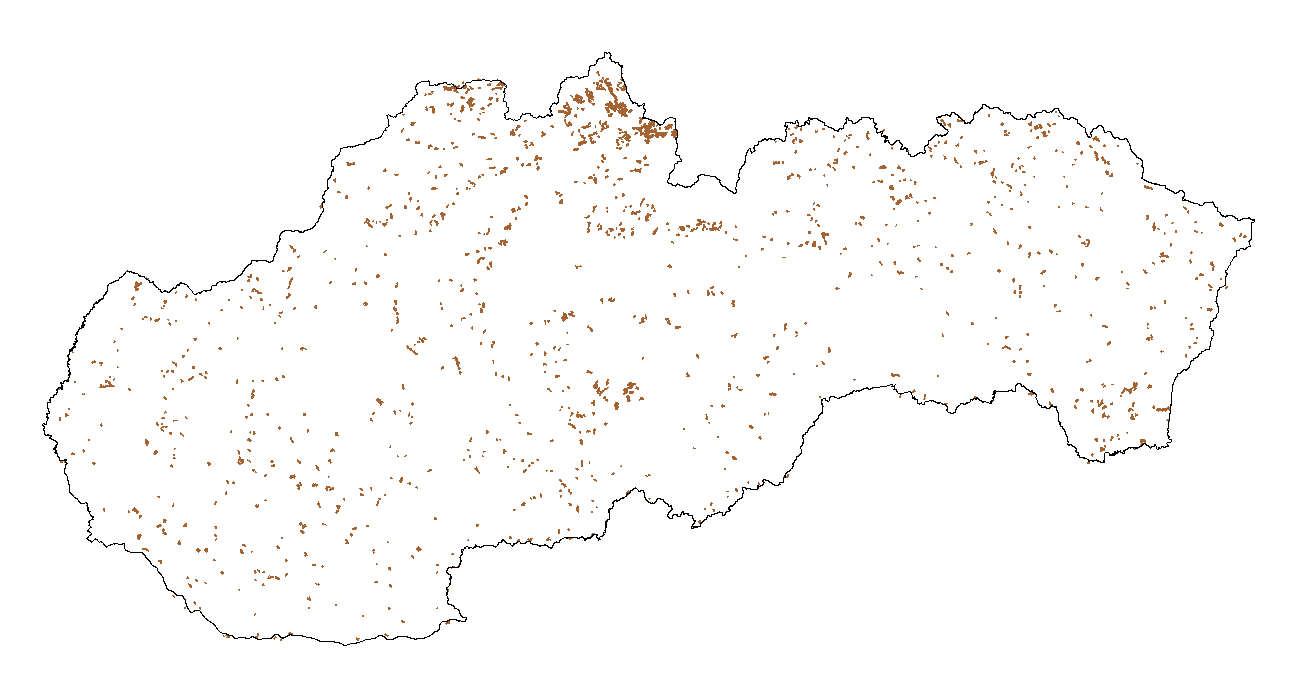 Figure 2a - Spatial distribution - AGRO land - 2000\u20131990
