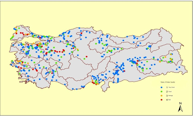 Figure 1: Water Quality of Turkey, 2006