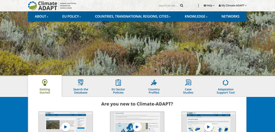 European Climate Adaptation Platform (CLIMATE-ADAPT)