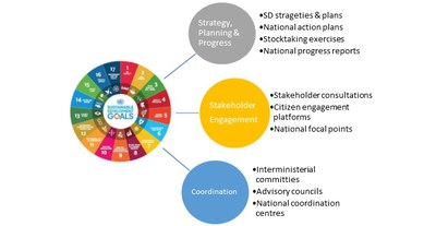 Fig.4 SDG processes in Eionet Countries